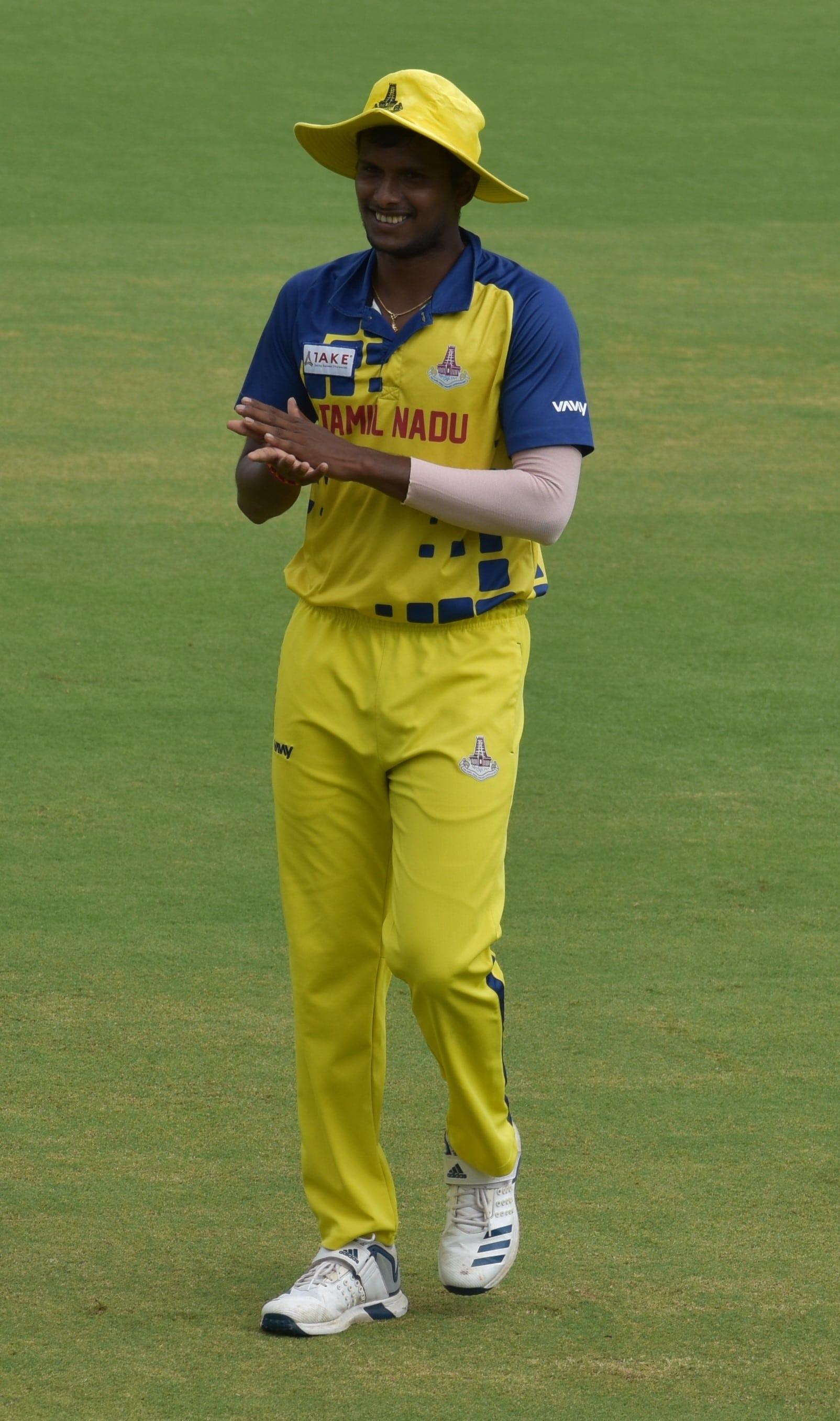 Thangarasu Natarajan Indian Cricketer
