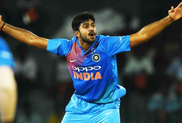 Vijay Shankar Indian Cricketer