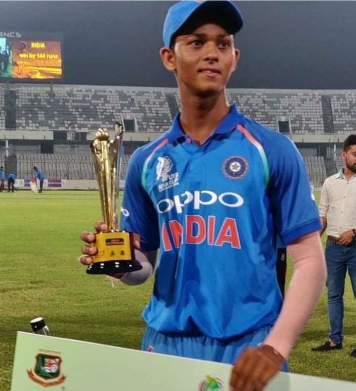 Yashasvi Jaiswal Indian Cricketer