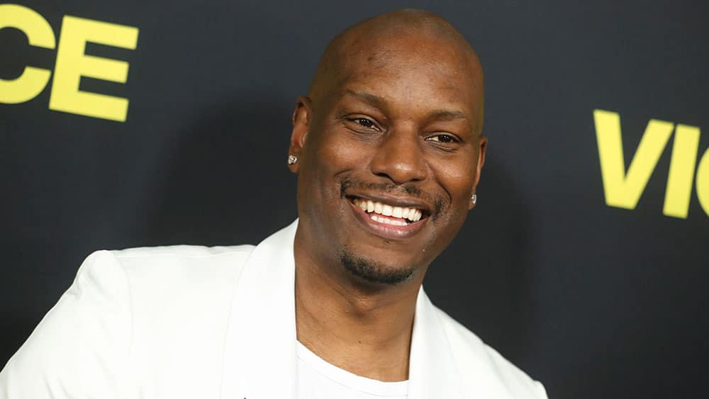 Tyrese Gibson American Singer, Songwriter, Author, Rapper, Actor, Model, VJ and Screenwriter
