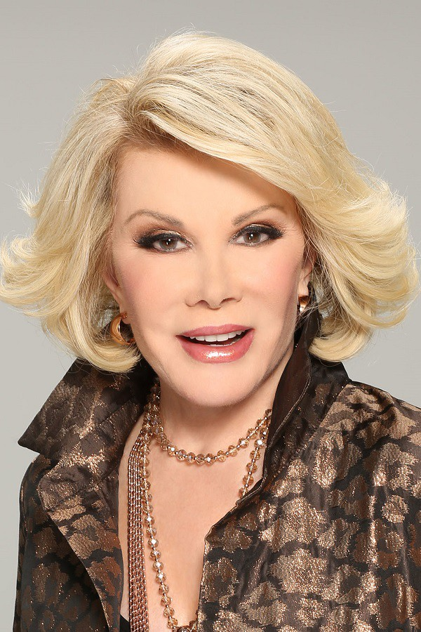 Joan Rivers American Comedian, Actress, Writer, Producer, Host