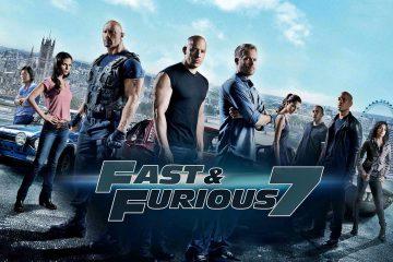 Furious 7 poster 360x240