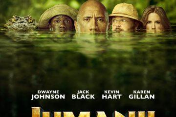 Jumanji Welcome to the Jungle poster 360x240