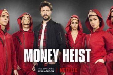 Money Heist poster 360x240