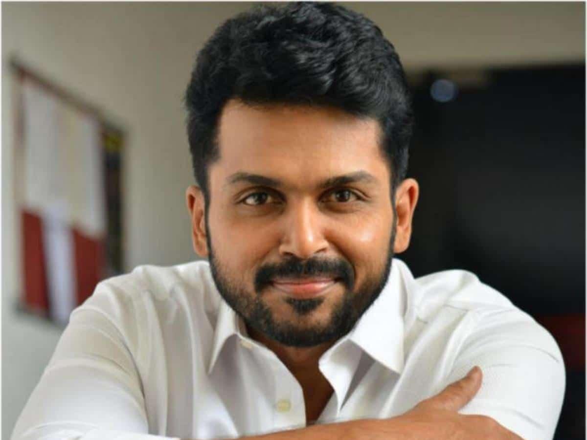 Karthi Indian Actor