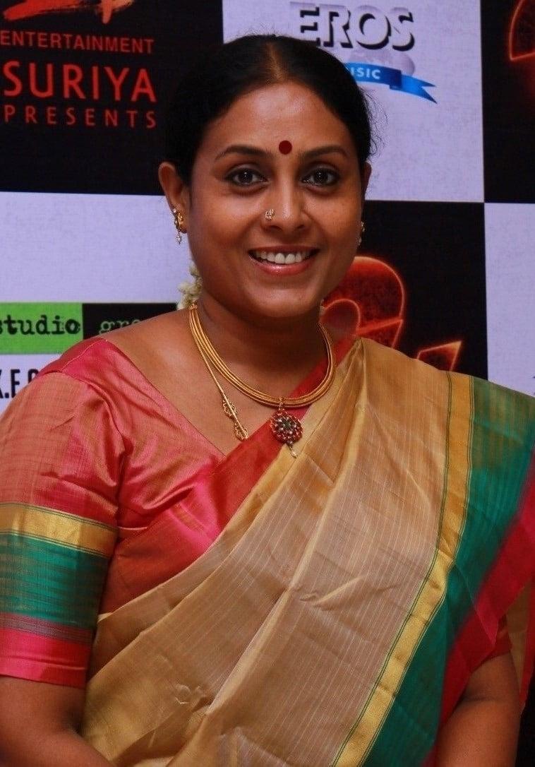 Saranya Ponvannan Indian Actor