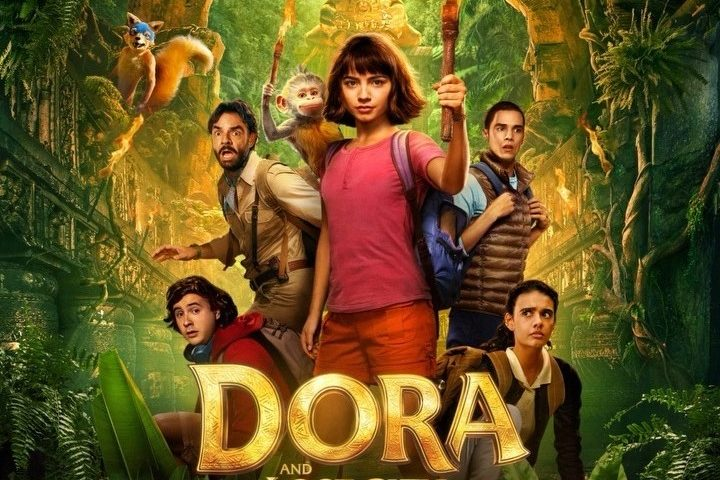 Dora and the Lost City of Gold poster 720x480