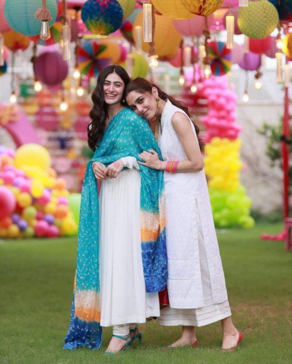 Hina Afridi At Maya's Birthday Bash