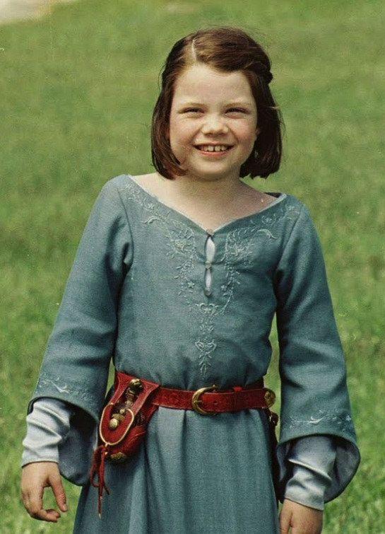 Georgie as Lucy